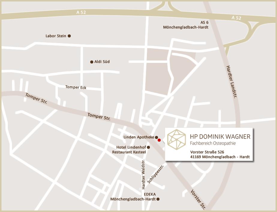 Standortkarte HP Dominik Wagner